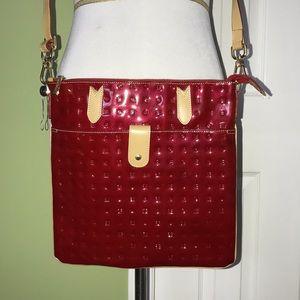 Red Patent Leather Arcadia Crossbody